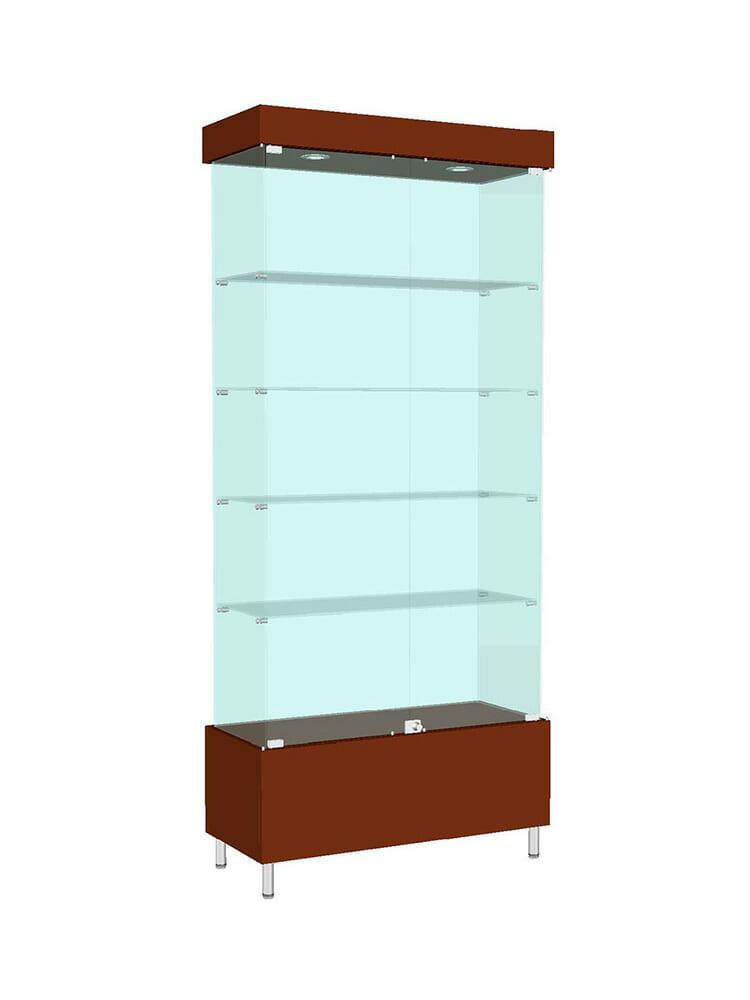 Шкаф стеклянный «ШД-601»