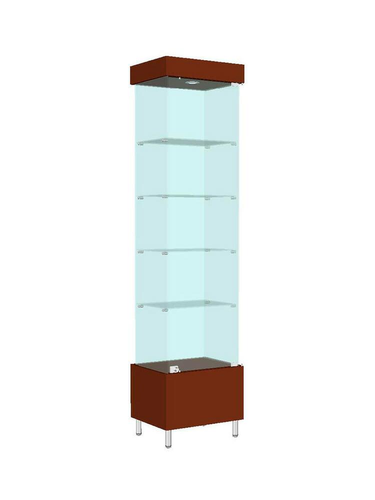 Шкаф стеклянный «ШД-604»