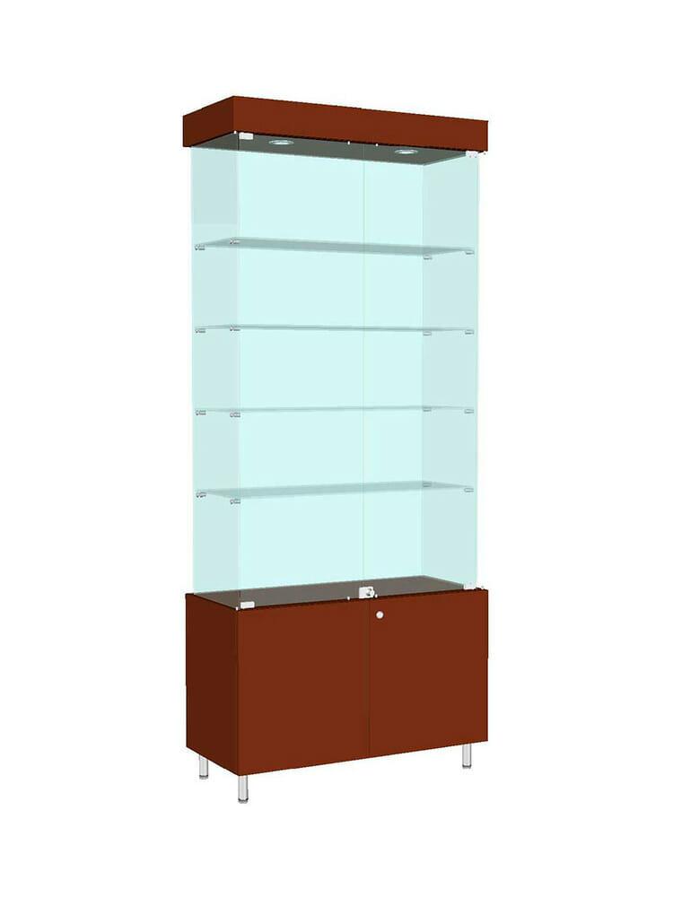 Шкаф стеклянный «ШД-701»
